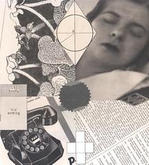 71% water (kurberry) Tags: collage vintageephemera vintagecollage cutandpaste cut paste