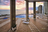 (007/17) La piscina de Villamarina (Pablo Arias) Tags: pabloarias photoshop nxd cielo nubes españa arquitectura piscinamar agua mediterráneo edificios atardecer isla benidorm alicante comunidadvalenciana