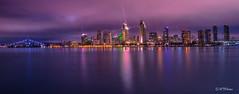 San Diego Lights... (Jay HTP) Tags: sandiego downtown travel california southerncalifornia lights city destinations adventure explore behindthelens longexposure nikond7000 nikonphotography htphotos htph0t0s nightlife
