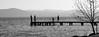 sul pontile (maxlancio) Tags: pontile bianconero black bw white blackwhite bridge garda lago donna bambino padenghe moniga lake controluce silhouette