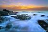 Sunrise over Atlantic Ocean (Sotitia Om Photography) Tags: sunrise atlantic ocean sescape marblehead massachuestts castlerock earlymorning sotitiaomphotography cambodianphotographers canonusa canon6d teamcanon leefilters longexposure lazyshutter america usa unitedstates canon1740mm