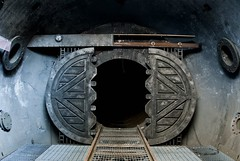 Cell 3 Doors (djflava) Tags: ngte pyestock farnborough urbex nikon d80