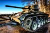 M24 Chaffee Tank (Batram) Tags: panzer tank m24 chaffee urbex urban exploration gas mask maske gasmaske