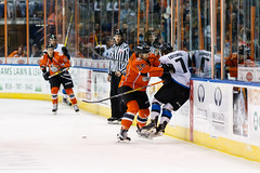 "Missouri Mavericks vs. Wichita Thunder, February 3, 2017, Silverstein Eye Centers Arena, Independence, Missouri.  Photo: John Howe / Howe Creative Photography • <a style=""font-size:0.8em;"" href=""http://www.flickr.com/photos/134016632@N02/32713947585/"" target=""_blank"">View on Flickr</a>"