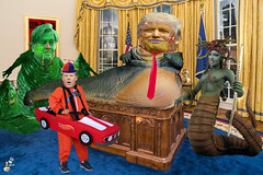 Meeting in the Oval Office (The Devils in the Details) Tags: donaldtrump kellyanneconway seanspicer inauguration chucktodd executiveorder washingtondc cia gop isis vladimirputin russia sexdrugsandrockandroll hillaryclinton plannedparenthood bigot dumptrump thewalkingdead republican pedophile mikepence washingtondcwomensmarch badhombre conservative rape riencepriebus donaldmcgahn stevenbannon frankgaffney jeffsessions generaljamesmattis generaljohnkelly stevenmnuchin andypuzder wilburross cathymcmorrisrodgers twitter mitchmcconnell ktmcfarland mikepompeo nikkihaley betsydevos tomprice scottpruitt seemaverma trumptower meetthepress marriageequality kukluxklan daryldixon newyorkcity melaniatrump riggedelection jihad terrorist taliban mexicanwall racism confederateflag nazi islam freedom berniesanders americannaziparty therollingstones democrat civilrights tednugent tempertantrum abortion tinfoilhatsociety tyrant foxnews liberal alecbaldwin