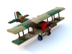 BrickMania SPAD S.XIII. (Sabaton_n) Tags: lego brickmania ww1 wwi fernch plane spad sxiii instruction