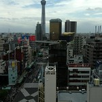 Blick auf den Skytree