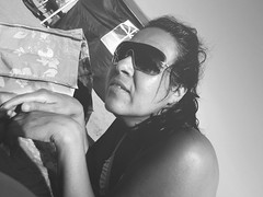 Arena (pinhead1769) Tags: summer sun blancoynegro sol beach glasses blackwhite playa arena agosto verano gafas costadelsol malaga rincndelavictoria bwdreams