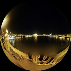 Rzut (rybiego) oka na Dunaj | (Fish)Eyes view at the Danube