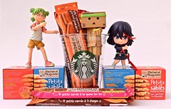 « But where's the coffee Starbucks ^^ » (Damien Saint-é) Tags: toy japanese amazon vinyl stormtrooper pepsi fireball yotsuba danbo drossel matoi calbee ryuko revoltech legomovie nendoroid danboard figma killlakill ryukomatoi