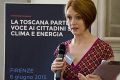 Silvia Givone di Sociolab - WWViews Firenze (OpenToscana) Tags: florence tuscany firenze toscana approvato wwviews worldwideviews worldwideviewsonclimateandenergy
