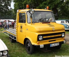 From fire truck to car transporter (Schwanzus_Longus) Tags: auto red rescue car truck germany fire gm general box outdoor motors german delivery vehicle van emergency blitz tow department transporter holden opel vauxhall adac fahrzeug flatbed bockhorn doka