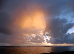 A most unusual sky! (dgans) Tags: sky clouds dawn hawaii pacific kauai sunbeam