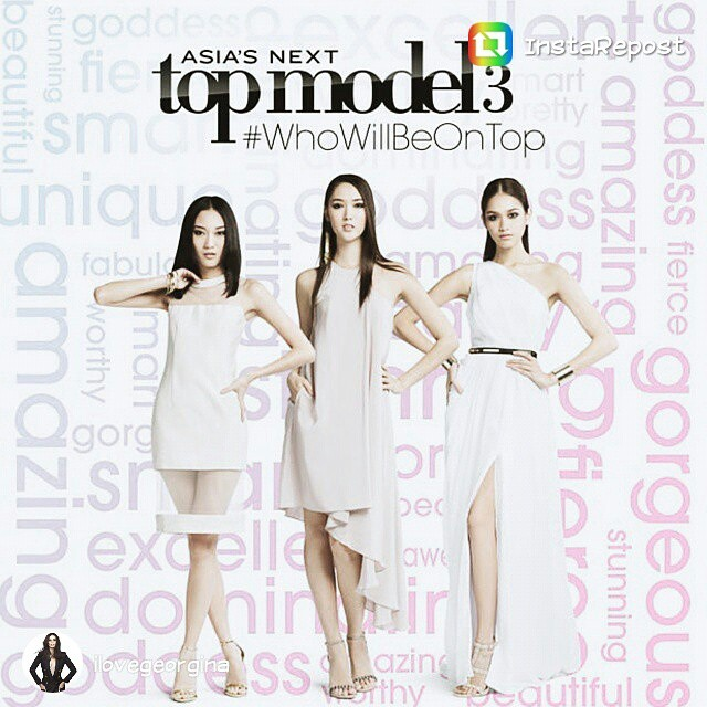 Must watch! Asias Next Top Model Finale. #GoPhilippines
