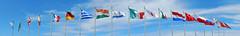 Around the World (Lady Silvermane) Tags: flags international fermilab ferminationalacceleratorlaboratory