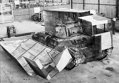 """Just your average Matilda II putting on its favourite truck outfit • <a style=""""font-size:0.8em;"""" href=""""http://www.flickr.com/photos/81723459@N04/19354763480/"""" target=""""_blank"""">View on Flickr</a>"""
