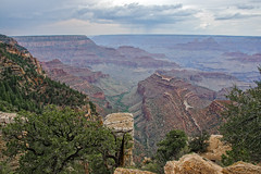 Grand Canyon (RolandBrunnPhoto) Tags: trees arizona sky plants usa mountains southwest nature water clouds river sand nikon rocks wasser desert outdoor stones pflanzen himmel wolken canyon berge steine area northamerica weite bume wste schlucht felsen expanse flche nordamerika flus d7000