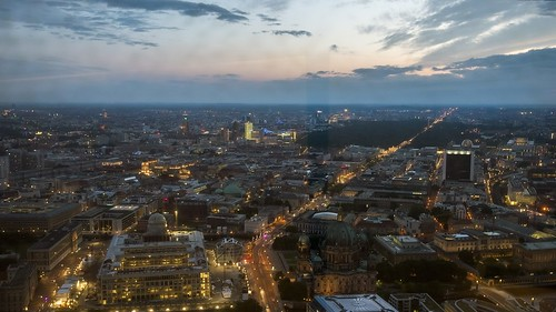 Berlin skyline by A.Cahlenstein Photography, on Flickr