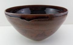 HOI TENMOKU STUDIO POTTERY BOWL (Marcusborra) Tags: art studio design pottery earthenware tenmoku