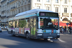 RATP Paris 7033 CL-207-PB (Will Swain) Tags: city travel paris france bus buses st french europe centre capital transport july des 10th transports michel notre dame seen ratp 2015 parisiens régie autonome 7033 cl207pb