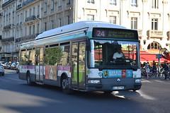 RATP Paris 7033 CL-207-PB (Will Swain) Tags: city travel paris france bus buses st french europe centre capital transport july des 10th transports michel notre dame seen ratp 2015 parisiens rgie autonome 7033 cl207pb