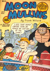 Moon Mullins 6 (Michael Vance1) Tags: art comics funny artist satire humor comicbooks parody comicstrip goldenage cartoonist