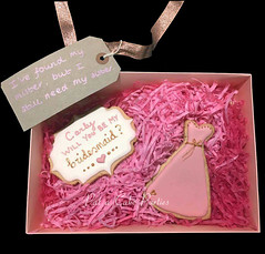 Bridesmaid-cookie-boxed-individual-1 (Relznik) Tags: bridesmaid cookies cookie favor favour dress royalicing piping