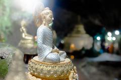 Budda (Aestheticshots) Tags: budda peace love religion bokeh light peacful throne god burma cave underground