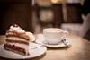 Torte zum Frühstück (Gret B.) Tags: kaffee torte schwarzwälderkirschtorte tasse frühstück café caféknigge bremen