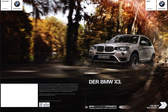 BMW X3.  2016 (World Travel Library) Tags: bmw x3 2016 frontcover car brochures sales literature auto worldcars world travel library center worldtravellib automobil papers prospekt catalogue katalog vehicle transport wheels makes models model automobile automotive motor motoring drive wagen photos photo photograph picture image collectible collectors ads fahrzeug germancars cars   german automobiles documents dokument broschyr esite catlogo folheto folleto   ti liu bror leaf