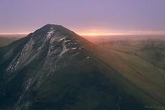 Thorpe Cloud Sunrise - Explored (David Raynham) Tags: january 2017 sunlight winter snow hills dovedale peakdistrict whitepeak thorpecloud 35mmf2afd df nikon