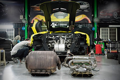 Installation of Lamborghini Aventador with Fi Exhaust LP750 SV version! (Fi Exhaust) Tags: lamborghini lambo frequency intelligent exhaust fiexhaust lp700 lp750 lp7504 sv
