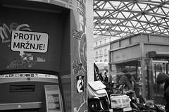 Bankomat (roksoslav) Tags: zagreb croatia 2016 cashmachine atm nikon d7000 nikkor28mmf35 market tržnica plac