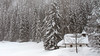 Church on the forest edge (ab.130722jvkz) Tags: italy trentino alps easternalps dolomites winter snowfall
