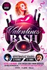 Valentines Day Flyer PSD (XtremeFlyers) Tags: bash flyer party poster psd template valentines valentinesday vday