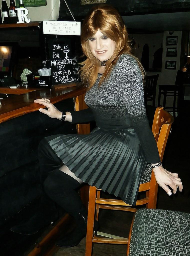 What necessary Short skirt transvestite