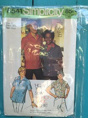 Simplicity 6541 (kittee) Tags: kittee vintagesewing vintagepatterns simplicity 1974 1970s 6541 simplicity6541 boys teenboys shirt frontbuttonclosing notchedcollar shortsleeves patchpockets snaps wouldsell wouldtrade size20 chest3612 sewing