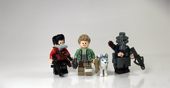 Apocalyptic Wastelanders [Explored] (Synthetic bug) Tags: fallout 4 lego apoc color