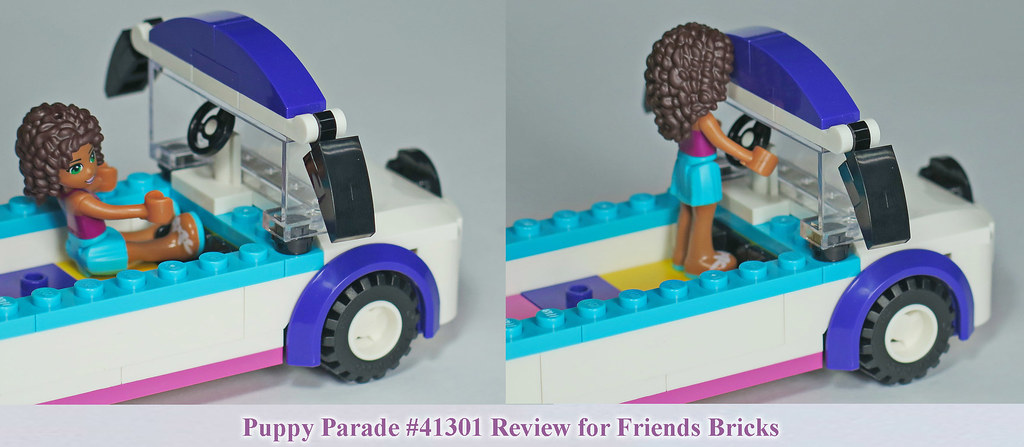 lego friends puppy parade instructions