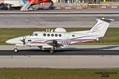 N333WC LMML 16-01-2017 (Burmarrad) Tags: airline private aircraft beechcraft b300 king air registration n333wc cn fa55