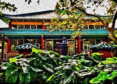 Kuan Yin Temple (jcc55883) Tags: nuuanu nuuanuavenue vineyardboulevard fosterbotanicalgarden hawaii honolulu oahu buddhisttemple buddhistarchitecture architecture kuanyintemple ipad ipadair