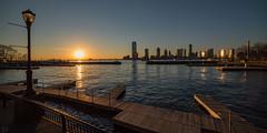 Sunset at the North Cove Marina (dansshots) Tags: dansshots nyc newyorkcity newyork nikon nikond750 rokinon wideangle sunset northcoveyachtharbor northcovemarina goodnight endoftheday sunsetcolors