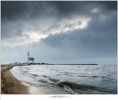 Paard van Marken (nandOOnline) Tags: landschap storm wind vuurtoren natuur water paardvanmarken lighthouse meer zuiderzee marken ijsselmeer nholland nederland