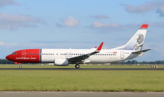 Norwegian Air Shuttle Boeing 737-800 (AMSfreak17) Tags: amsfreak17 danny de soet canon 70d ams eham amsterdam luchthaven schiphol airport vliegtuigen vliegtuig aircraft airplane jet jetphotos planespotting luchtvaart vertrek aankomst departure arrival spotter planes world of airplanes nederland the netherlands holland europe dutch take off runway 36l 18r polderbaan norwegian air shuttle boeing 737800 eifjr