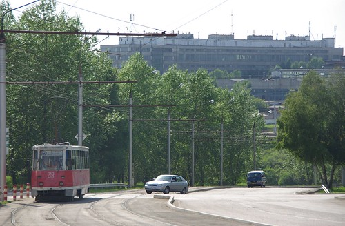 Irkutsk tram 71-605 213 ©  trolleway
