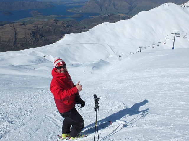 Klaus Mair, Treble Cone NZ (12 Sept 2013)