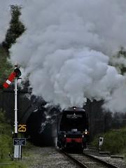 Wells and Wadebridge at the GWSR (Martin Creese) Tags: railway wells locomotive westcountry toddington wadebridge bulleid 34007 34092 gwsr 30742charters