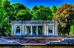 Building on the River Bank (Kev Walker ¦ 8 Million Views..Thank You) Tags: stpetersburg russia hdr 2015 kevinwalker