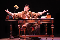 Stephen Berger as Alfred P. Doolittle in My Fair Lady, produced by Music Circus at the Wells Fargo Pavilion June 9-14, 2015. Photos by Charr Crail.