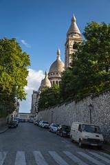 Basilica of Sacr-Cur, Montmartre, Paris (Oleg.A) Tags: paris france ledefrance basilica montmartre basiliquedusacrcur hurch sacrcurbasilic